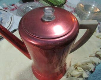 vintage pink flavomatic percolator west bend 8 cups