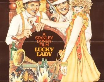 Lucky Lady-1975 Poster