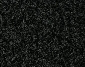 Fat Quarter Fairy Frost Diamond Black Glitz 100% Cotton Quilting Fabric