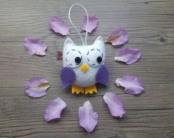 Party Favor Ideas, Baby Nursery Decor, White Owl, Wildlife Art, Forest Animals, Woodland Decoration, Mini Ornament, Cool Kids Room, Nature