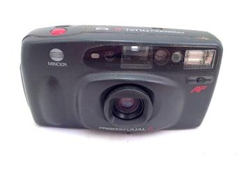 Minolta Freedom Dual C Auto Focus 35 Film Camera