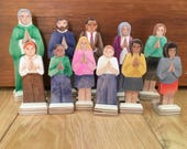 The Eucharistic Presence - 11 Wood People