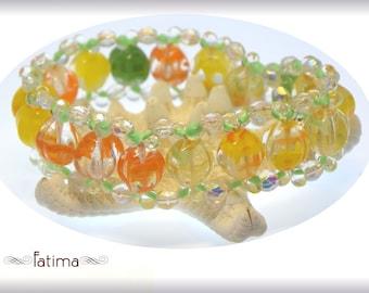 Melon Sorbet Bracelet