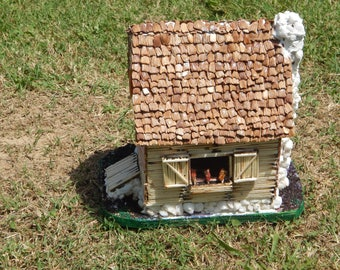 Matchstick Fairy House
