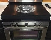 Un-engraved gas stove topper