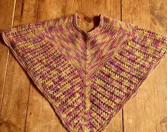 Chutes & Ladders (an Open-Work Lace Scarf)