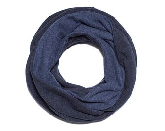 husband gift, gift idea for husband, gift for dads, Loop Scarf, Infinity Scarf, mens scarf