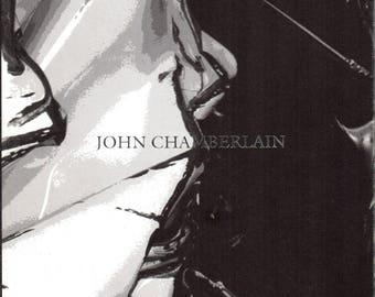 Art Exhibition Catalogue, John Chamberlain Recent Work, Oct 24 - Nov 28, 1992, Pace Gallery, American Sculptor, Vintage Book, Art Book