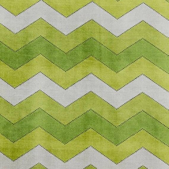 Chartreuse Velvet Upholstery Fabric Modern Lime Green