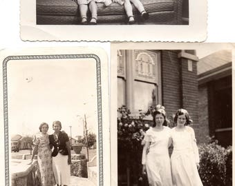 Vintage photographs Lot of 36