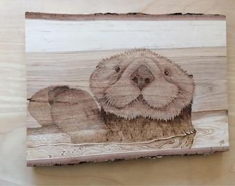 Otter Burning