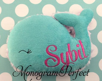 Personalized Plush Whale Soft Toy