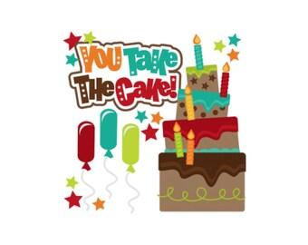 Birthday die cuts, birthday scrapbook embellishments, Scrapbook embellishments, card making supplies, scrapbook supplies, paper piecings