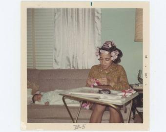 "Vintage Photo Snapshot: ""Home, after Detroit"" 1972 (75585)"
