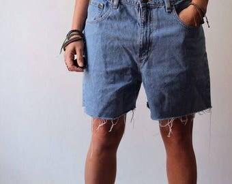 90s LL Bean boyfriend shorts
