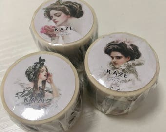 Limited Edition Washi Tape- Girls from the Past