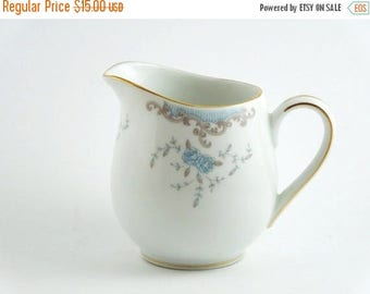 ON SALE Vintage Fine China Creamer. Circa Late 1950's. Mid Century Classic. Farmhouse Style. Retro Kitchen.