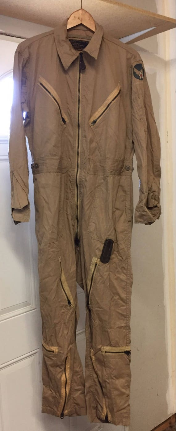 WWII Army Air Force Flight Suit