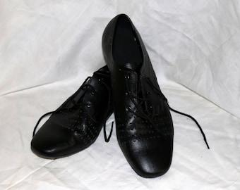 Mens Vintage Very Fine Signature Dance Shoes - Leather Suede - Size 11 - Dancesport Shoes