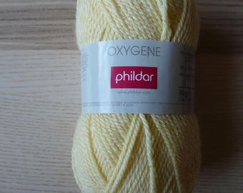 ball wool PHILDAR oxygen