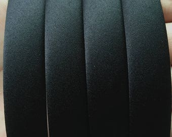 15pcs black Fabric plastic Headband 20mm Wide accessories