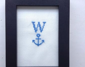 W*nker Subversive Cross Stitch