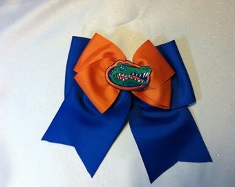 University Florida Hair Bow
