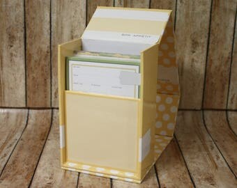 New Retired Stampin' Up! Recipes by Design Kit with Box