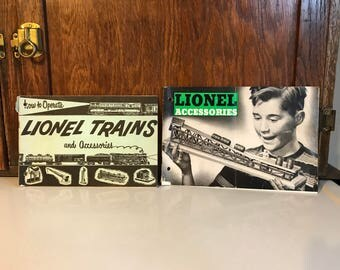 Two Vintage Lionel Booklets from the 1950s
