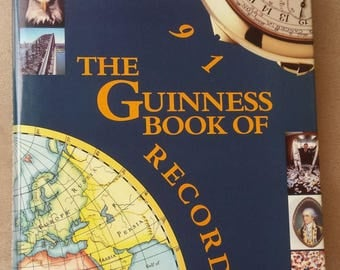 The Guinness Book of World Records, 1991, Coffee Table book, Excellent condition