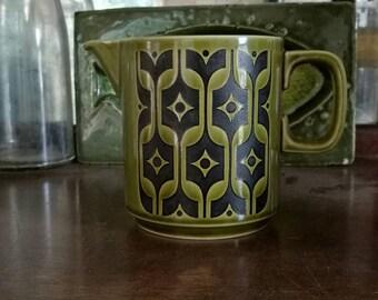 ホーンジー ヘアルーム ミルクピッチャー 緑色 Hornsea heiloom green milk pitcher