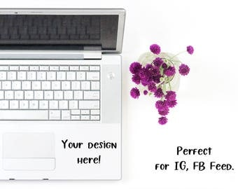 Stock Photo -  Decal Mock Up - Styled Stock Photography - Social Media Images - Flatlay Styled Stock - Stock Product Photo
