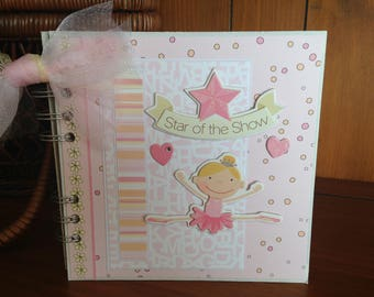 Star of the Show Chipboard Book - Completed Scrapbook Album