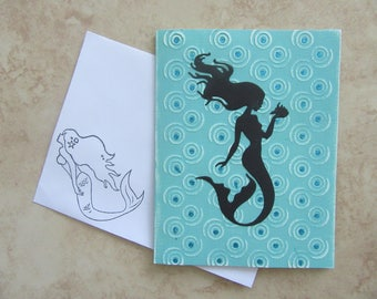 Mermaid All Occasion Card - 5 Sentiments Available