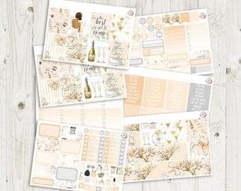Wedding Bliss Vertical Weekly Kit - ECLP Stickers