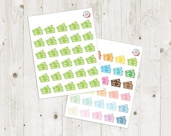 Money Planner Stickers - ECLP Stickers