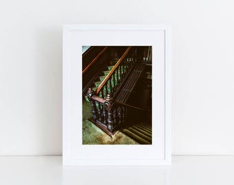 Staircase Bannister - Urban Exploration - Fine Art Photography Print