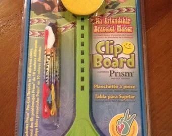 CLIPBOARD CLIP BOARD FOR BRAZILIAN BRACELETS FRIENDSHIP BRACELETS