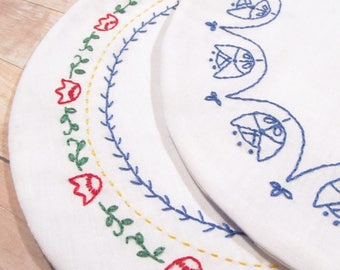 Embroidered Table Mat PDF Craft Pattern