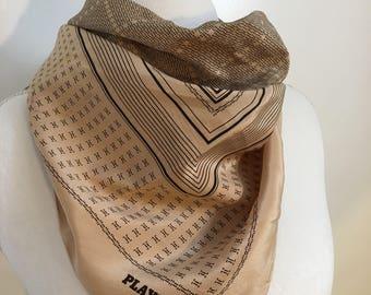 Vintage Playboy silk scarf