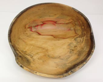 Box Elder Bowl, Wooden Bowl, Natural Edge Bowl, Turned Bowl