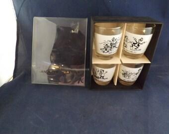 Anchor Hocking Funny Shot Glasses in Original Boxes