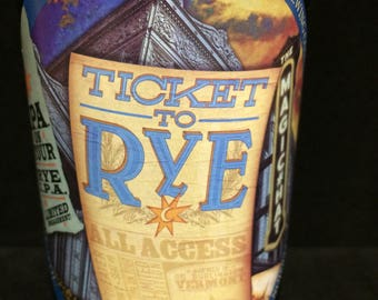 Ticket To Rye by Magic Hat scented candle - Made to order