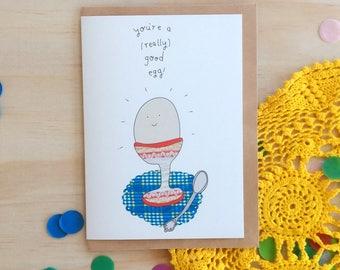 Greeting Card - Good Egg