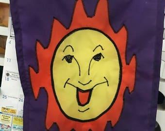 Sun / Sunshine Welcome Garden Flag