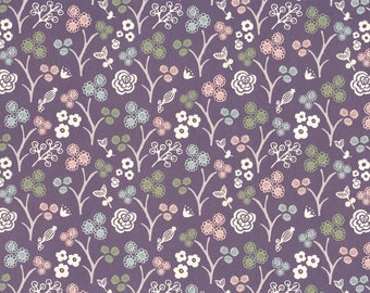 Pink, Navy & olive-wrapping paper from England