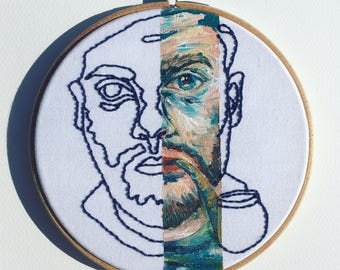 The sea captain / Orginal hoop art