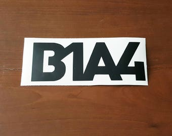 B1A4 Kpop, B1A4 Decal, Kpop Decal, Tablet Laptop Decal, B1A4 Kpop Vinyl Decal