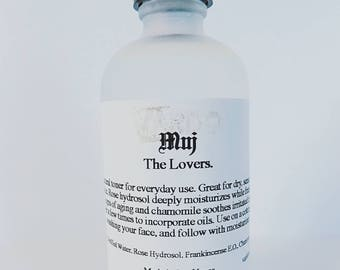 MUJ: The Lovers. Facial toner for dry skin