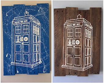 Doctor Who Large TARDIS sign